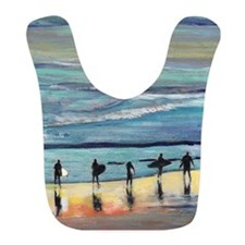 surfers oceanside california by Riccoboni Bib