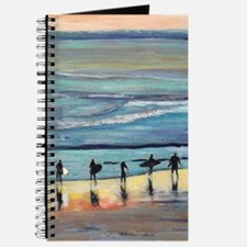 surfer painting by RD RIccoboni Journal