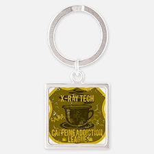 XRAY Square Keychain