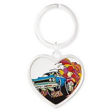 muscle Heart Keychain