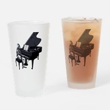 Pianoplayertransparent Drinking Glass
