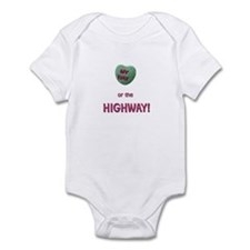 Unique Heart candy Infant Bodysuit