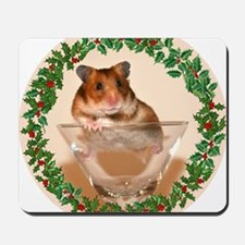 RoundHamster5 Mousepad