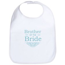 Brother of the Bride blue Bib