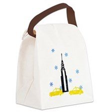 NYC Holiday Canvas Lunch Bag