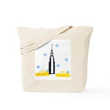 NYC Holiday Tote Bag