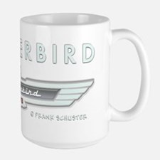 T Bird Emblem_embossed_1_blk Mug