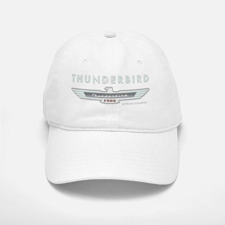 T Bird Emblem_embossed_1_blk Baseball Baseball Cap