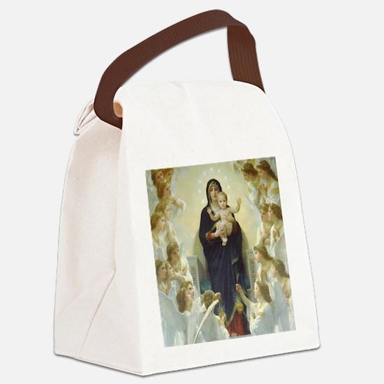 Bouguereau Art calendar January Canvas Lunch Bag
