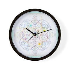 Mandala One Wall Clock