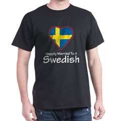 Happily Married Swedish T-Shirt