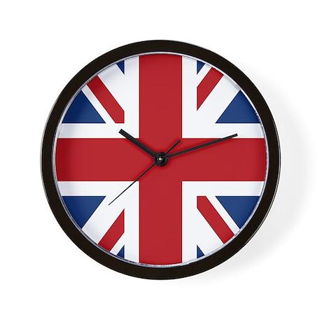 union-jack_13-5x18 Wall Clock