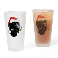 Great Dane Gullivers Christmas Drinking Glass