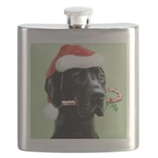 Great Dane - Gullivers Christmas Flask