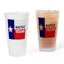 nativetexan2011_50x60 Drinking Glass