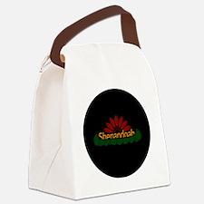 shenandoah_jacket Canvas Lunch Bag