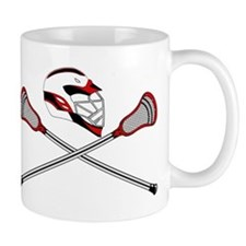 Red Helm and Sticks Mug