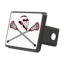 Red Helm and Sticks Hitch Cover