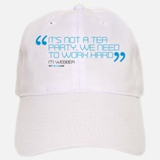 its not a tea party mug Baseball Baseball Cap