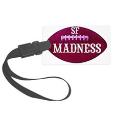 art-sfmadness-redfootball_edited Luggage Tag