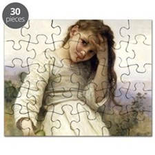 Bouguereaus Little Girls Art Calendar Janua Puzzle