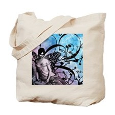 keys-and-fairy-wings-blue_13-5x18 Tote Bag