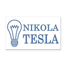 nikolatesla03 Rectangle Car Magnet