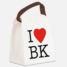 I-love-bk Canvas Lunch Bag