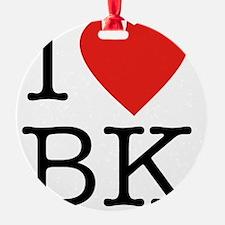 I-love-bk Ornament