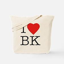 I-love-bk Tote Bag