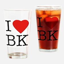 I-loveBK Drinking Glass