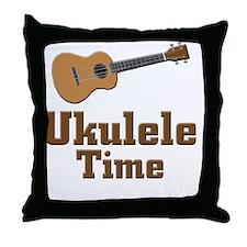 Ukulele Time Throw Pillow