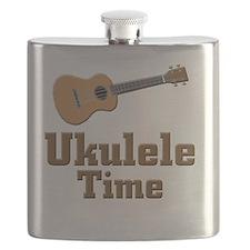 Ukulele Time Flask