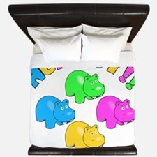 Hungry Hungry King Duvet