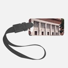 Hill Auditorium A2 Luggage Tag
