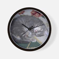 Gracie Sleeping Wall Clock
