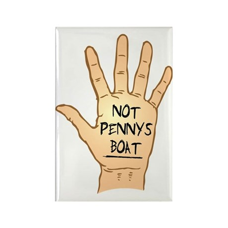 Not-Pennys-Boat Rectangle Magnet