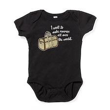 I want to make memories Baby Bodysuit
