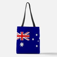 Flag of Australia Polyester Tote Bag