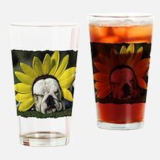 BDF shirt Drinking Glass