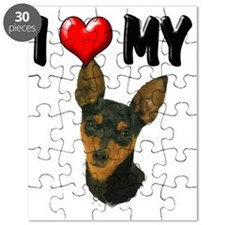 I Love My Min Pin Puzzle
