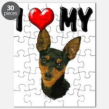 I Love My Min Pin Puzzle