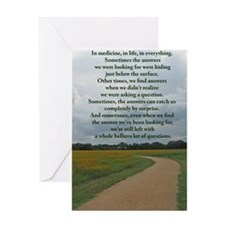answersquestionsjournal Greeting Card