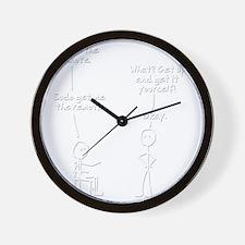 sudo-get-me-the-remote Wall Clock