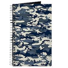 Blue-Camo-Pattern Journal