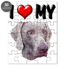 I Love My Weimer Puzzle