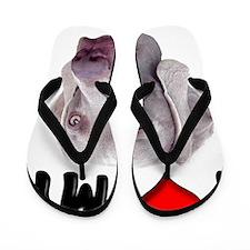 I Love My Weimer Flip Flops
