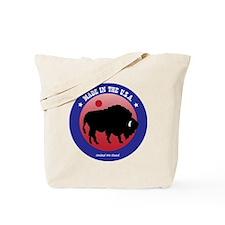 Bison2 Tote Bag