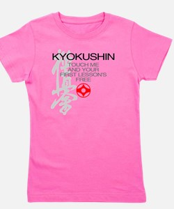 Kyokushin touch me, your first lessons  Girl's Tee