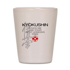 Kyokushin touch me, your first lessons  Shot Glass